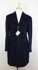 NWT BRUNELLO CUCINELLI Men's Blue Wool Blend Overcoat Coat Size 54/44/XL $5895