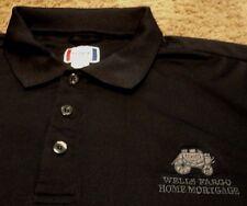 NEW Men's ~ WELLS FARGO BANK HOME MORTGAGE ~ Polo Uniform Employee Shirt XL