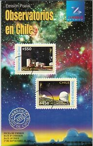 Chile 2002 Brochure Observatorios - Space