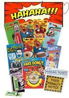 Novelty fun Practical Jokes Pranks Gag Stocking Fillers Gifts Toys