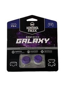 KontrolFreek Galaxy Thumbsticks for PS4 PS5 New Purple FPS Freek PlayStation