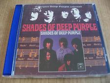 DEEP PURPLE Shades Of Deep Purple CD HARD ROCK BLACK SABBATH LED ZEPPELIN OZZY