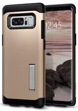New Spigen Slim Armor Case For Samsung Galaxy Note 8 - Champagne Gold
