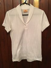 R.M.WILLIAMS WHITE POLO TOP SIZE 10 (THE BUSH OUTFITTER)