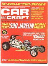 Car craft june 1968 javelin-el camino-motorama-drag racing-drag bikes