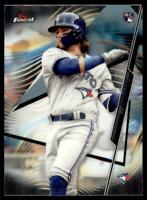2020 Topps Finest Base #27 Bo Bichette RC - Toronto Blue Jays