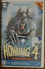 HOWLING IV aka Howling 4 Horror VHS Video Romy Windsor, Michael T. Weiss