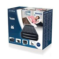 Bestway Premium Flocked Single Inflatable Air Bed Mattress w Sidewinder Air Pump