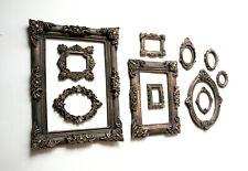 Vintage Photo Frames Set of 11 Gothic Photo Frame Mini Decorative Round Square