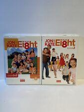 Jon and Kate Plus Ei8ht: Season 1,2,3 DVD Leah Gosselin, Hannah Gosselin