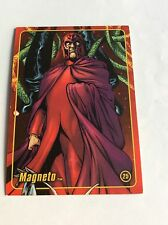 MAGNETO MARVEL FIGURE FACTORY SERIES 2 TRADING CARD 25