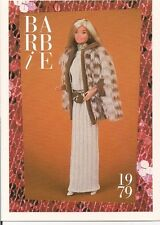 Barbie Fashion Collectable Card - Card No. 122: 1979 - Sleek 'n Chic