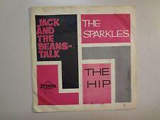 "SPARKLES: Jack & The Beanstalk 2:30-The Hip 2:23-Denmark 7"" 66 Triola TD 323 PSL"