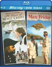 The Count of Monte Cristo / Man Friday [New DVD] With Blu-Ray