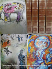 Malraux Oeuvres numéroté  NRF La gerbe Chagall Masson Alexeieff illustré reliure