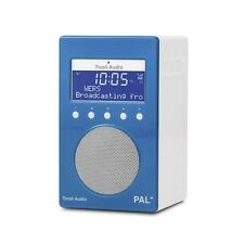 Tivoli Audio PAL+ Portable FM/DAB+ Radio, Blue, Brand New