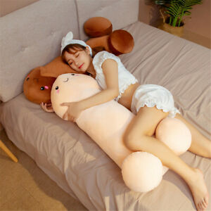 Long Penis Plush Doll Toy Stuffed Creative Dick Soft Pillow Cushion Bolster 60cm