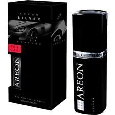 Areon Top Quality Luxury Car Perfume  Air Freshener - 50ML - Silver