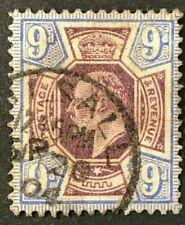 GB Sc#136 1902-11 King Edward VII F/VF (14-108)