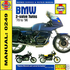 BMW R60 R80 R90 R90/6 R100GS R100RS R100RT Haynes Manual 0249 NEW