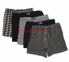 Cotton Loose Boxers for Men with Multipack Striped Underwear