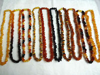 """Genuine Real Baltic amber necklace for adults 18""""-25''choose your favorite color"""
