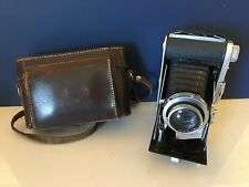 Ensign Selfix 820 Folding Camera And Case With Ross Xpres Lens