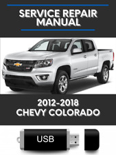 Chevy Colorado 2012-2018 Factory Service Repair Manual chevrolet Usb