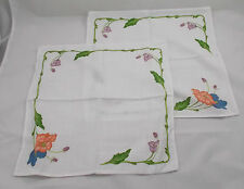 Villeroy & and Boch AMAPOLA 2 x napkins / serviettes