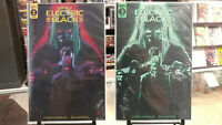 ELECTRIC BLACK #3 LOT MAIN COVER AND GLOW IN THE DARK VARIANT SCOUT COMICS NM