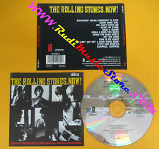 CD THE ROLLING STONES Now 1986 ABKCO 844 462-2 no lp mc dvd (XS11)