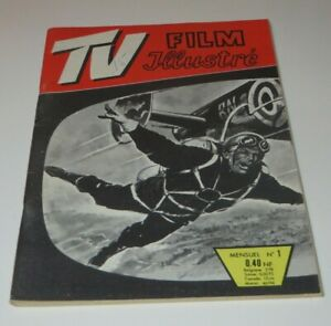 TV FILM ILLUSTRÉ  #1 FRENCH COMIC BOOK DIGEST 1961 WAR COMIC **FREE SHIPPING**