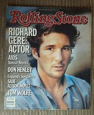 Richard Gere Don Henley Rolling Stone Magazine  Issue # 446 April 25th 1985