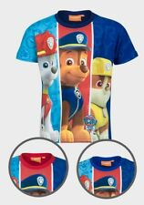 Paw Patrol Boys T-Shirt Top 2-3 3-4 5-6 7-8 Years Marshall Rubble Chase Best Sel