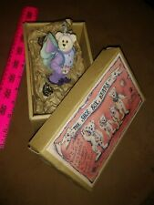 Flutterby Bear – Boyds The Shoe Box Bears-Jointed-Handcast-Ha nd Painted Figurine