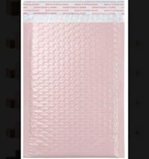 Light Pink Poly Bubble Mailers Envelopes Bags Pick Sizes