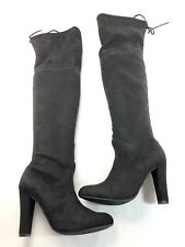 Steve Madden Gorgeous Women's Black Suede Over the Knee Boots US 8.5 M C570