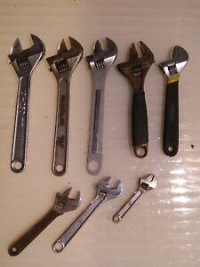 Adjustable Wrenches Bundle Joblot