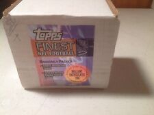 1995 Finest Football Series 2. (110 cards)