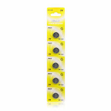 Whoesale 5ps CR1220 DL1220 ECR1220 Button Cell Coin Battery for Watch Calculator
