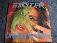 Exciter-Unveiling the Wicked LP-1987 Canada-Heavy Metal-Cobra-Music for Nations