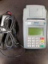 New listing First Data Fd-100 Credit Card Machine Terminal Reader +Ac Power Adapter.