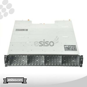 DELL POWERVAULT MD3220 2x N98MP CONTROLLER 2x POWER SUPPLY 24x TRAYS H200
