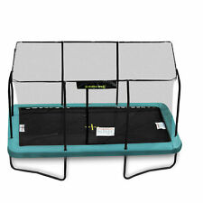 17ft x 12ft Jumpking Rectangular Trampoline with Enclosure (JKR1217G17)