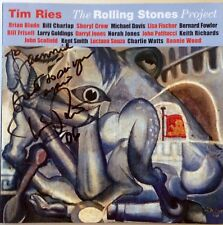 The Rolling Stones Project by Tim Ries Autographed CD Aug 2005 Concord Signed