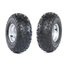 2pcs 145/70- 6 Tubless Tyre Wheel Rim for ATV Coolster Go Kart Buggy Drift Mower