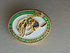 Donalda Alberta Canada Indoor Rodeo Lapel Hat Souvenir Pin
