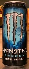 NEW MONSTER ENERGY ZERO SUGAR DRINK 16 FL OZ FULL CAN FREE WORLD WIDE SHIPPING
