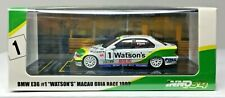 INNO64 C8 1/64 BMW E36 318i #1 WATSONS MACAU GUIA RACE 1993 E. PIRRO