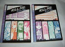 Tokyo Pop Manga Kill Me Kiss Me By Lee Young Yuu Volumes 1 & 2
